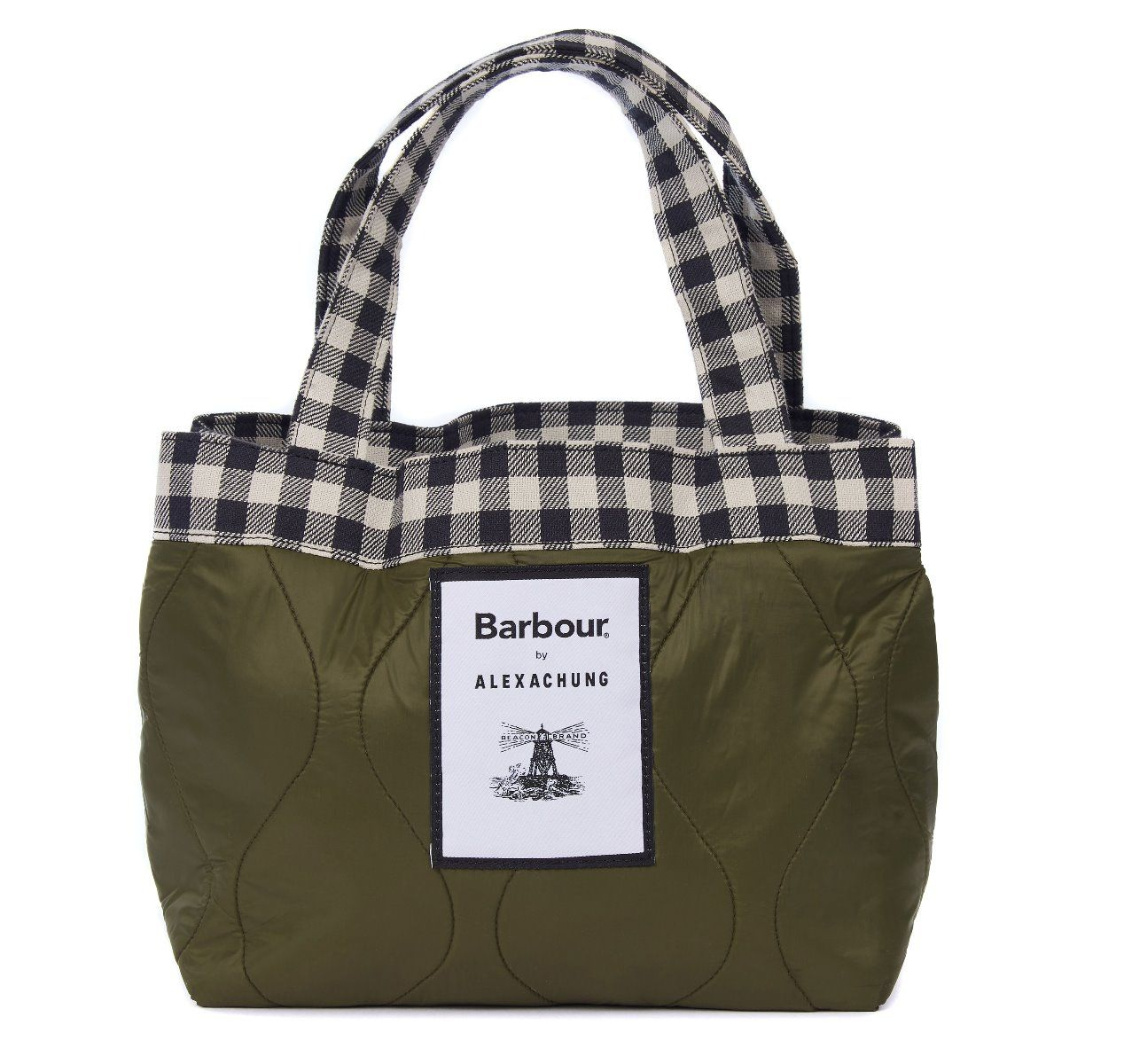 Barbour by A Chung Quilted Mini Tote Bag