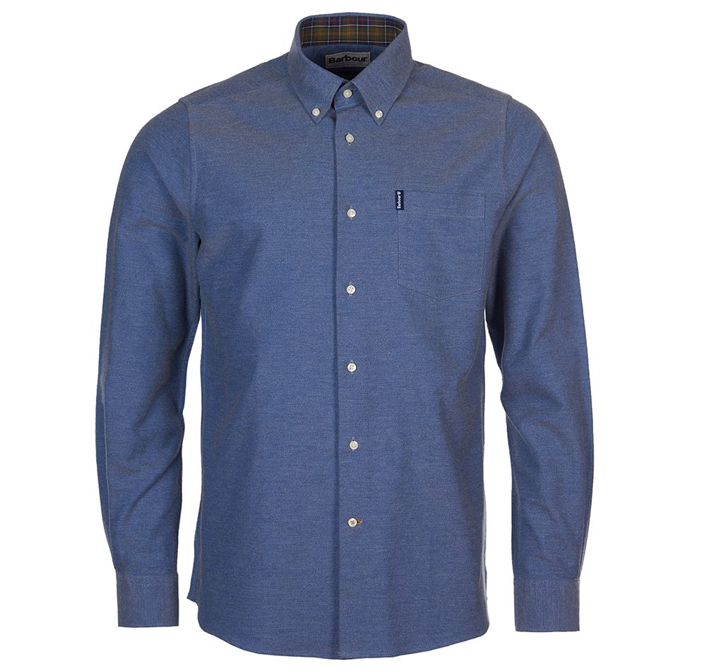 Barbour Barbour Oxford 6 Tailored Shirt Dk Chambray Barbour International