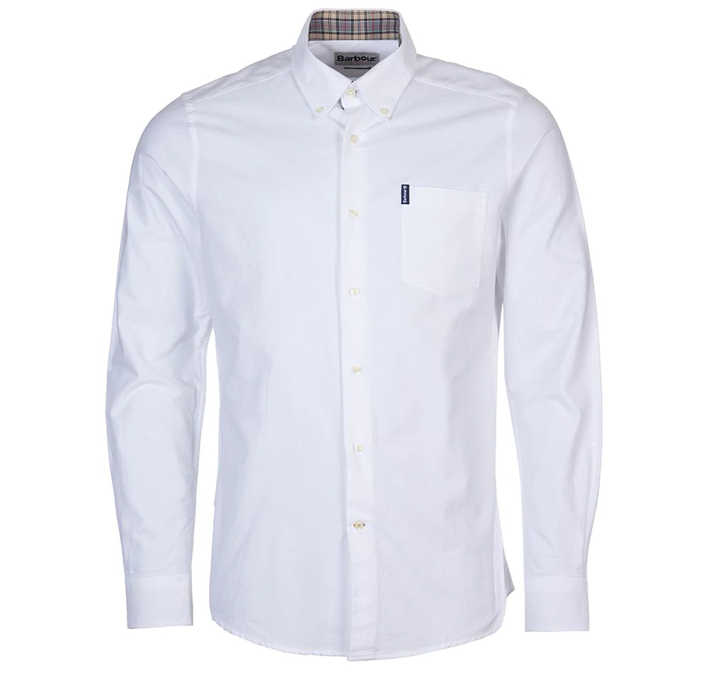 Barbour the Oxford Shirt White Barbour Lifestyle: From the Core Essentials collection
