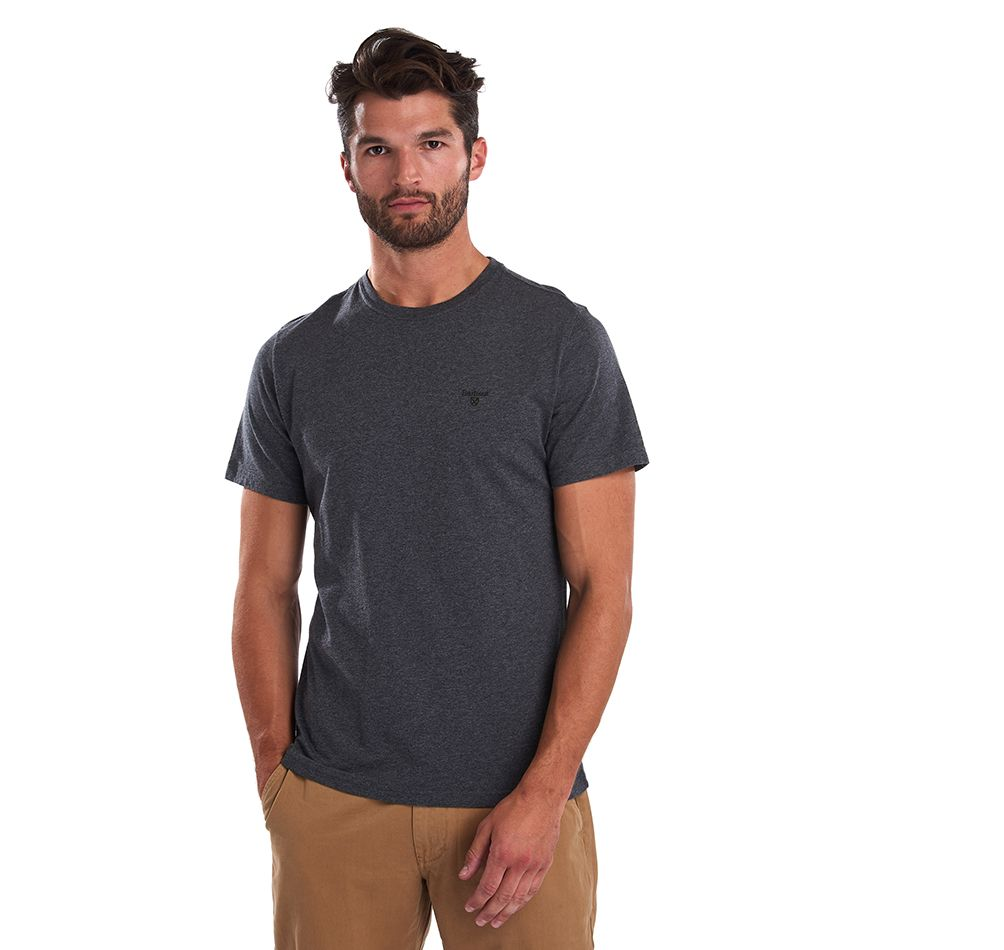 Barbour Sports Tee Slate Marl