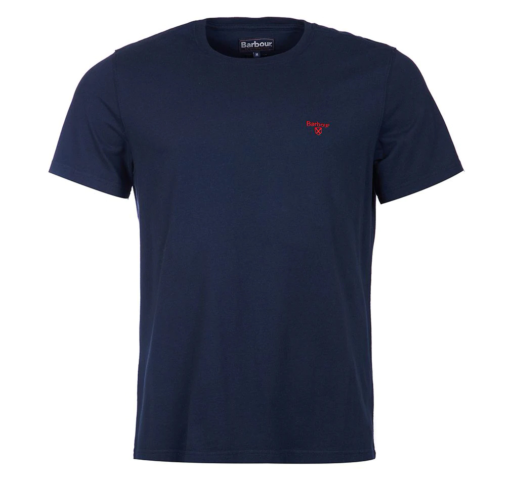 Barbour Sports Tee Navy Barbour International