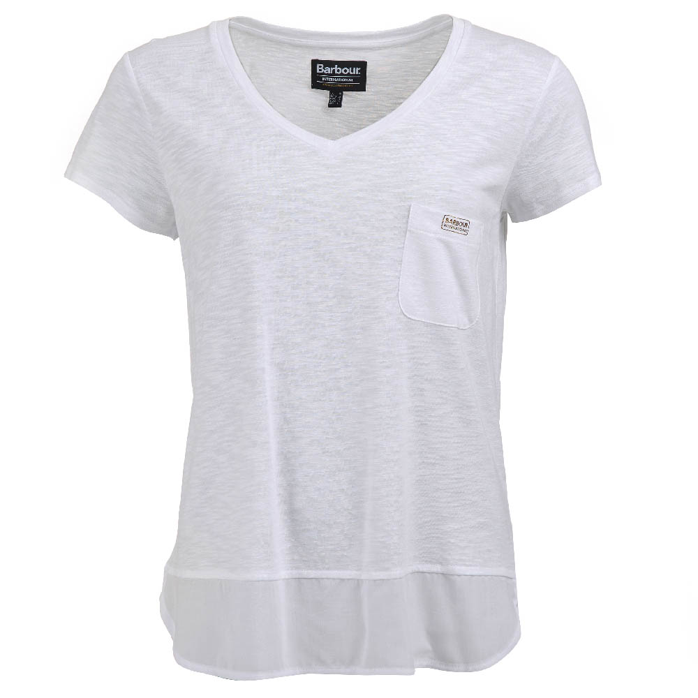 Barbour Intl Division T-Shirt White