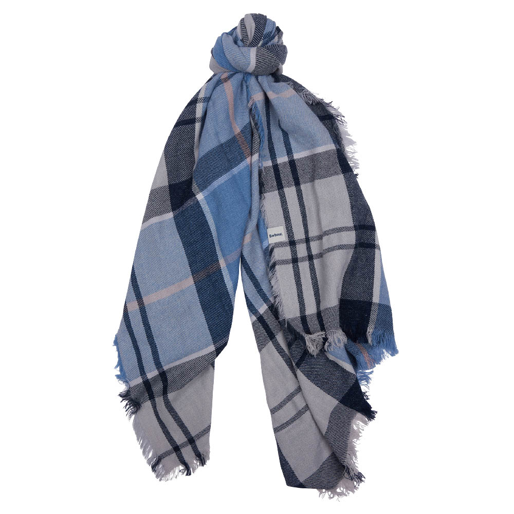 Barbour Freya Wrap Blue Barbour Lifestyle