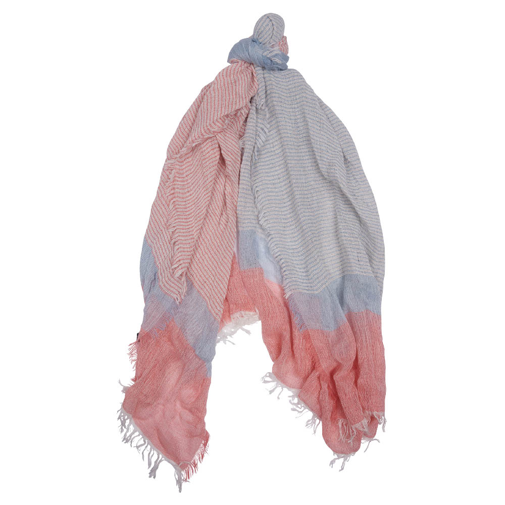Barbour Whitmore Wrap Scarf Blue Barbour Lifestyle: From the Summer Dress Tartan collection