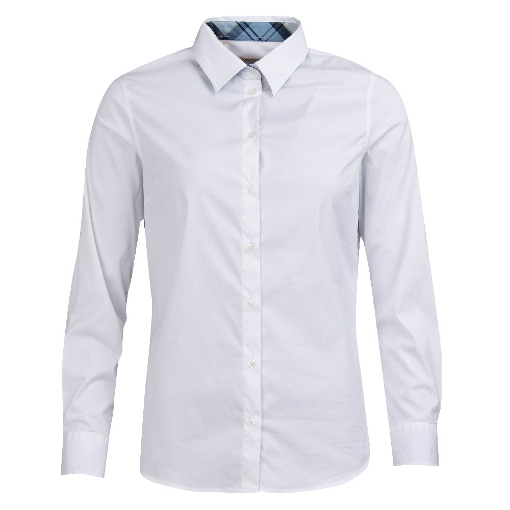 Barbour Barbour Malvern Shirt White Regular Fit