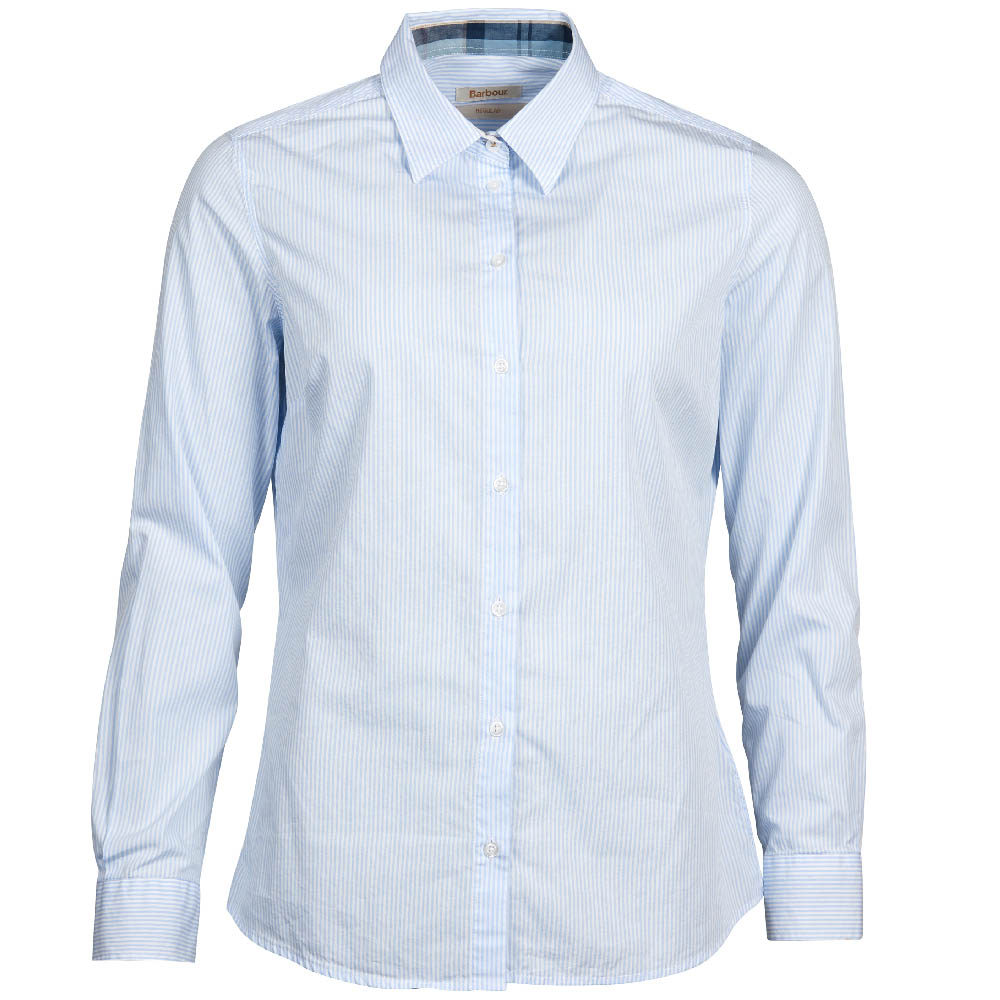 Barbour Breedon Shirt Blue Slim Fit