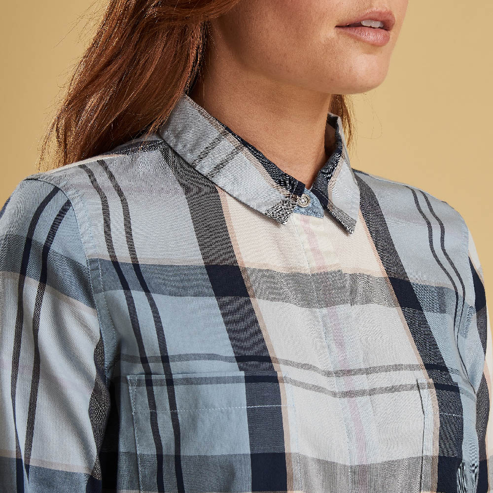 Barbour Bowfell Shirt Dragonfly