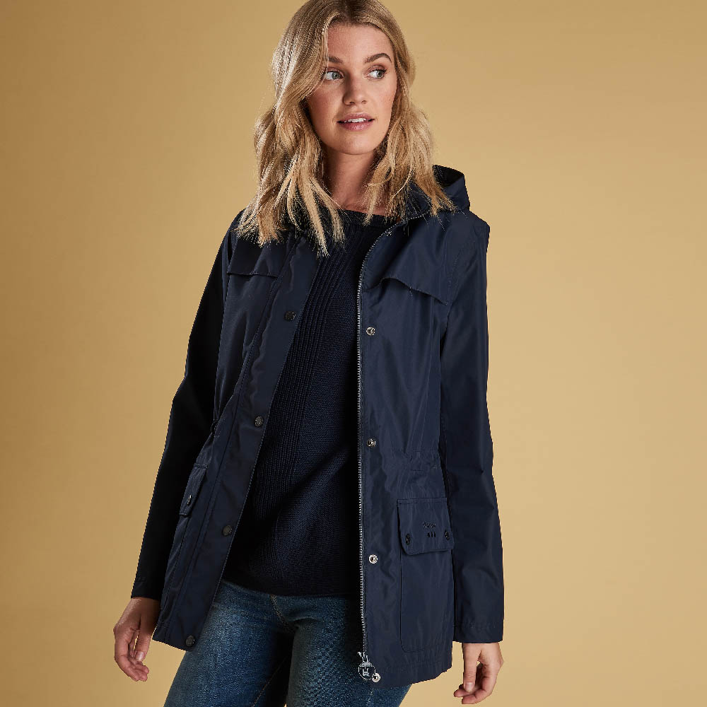 Barbour Drizzel Jacket Navy