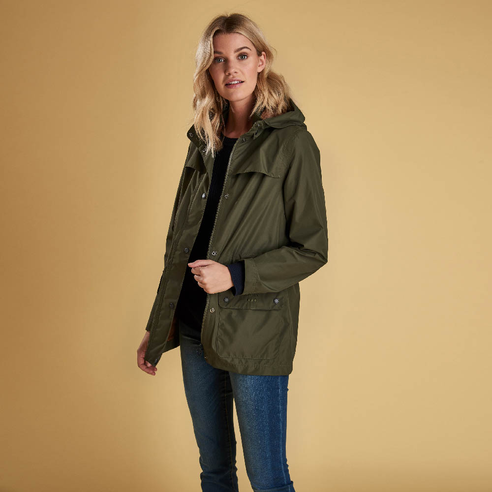 Barbour Drizzel Jacket Olive