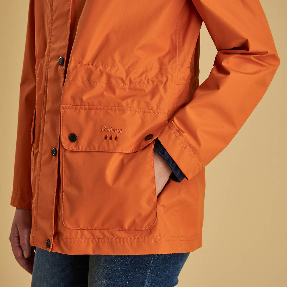 Barbour Drizzel Jacket Marigold