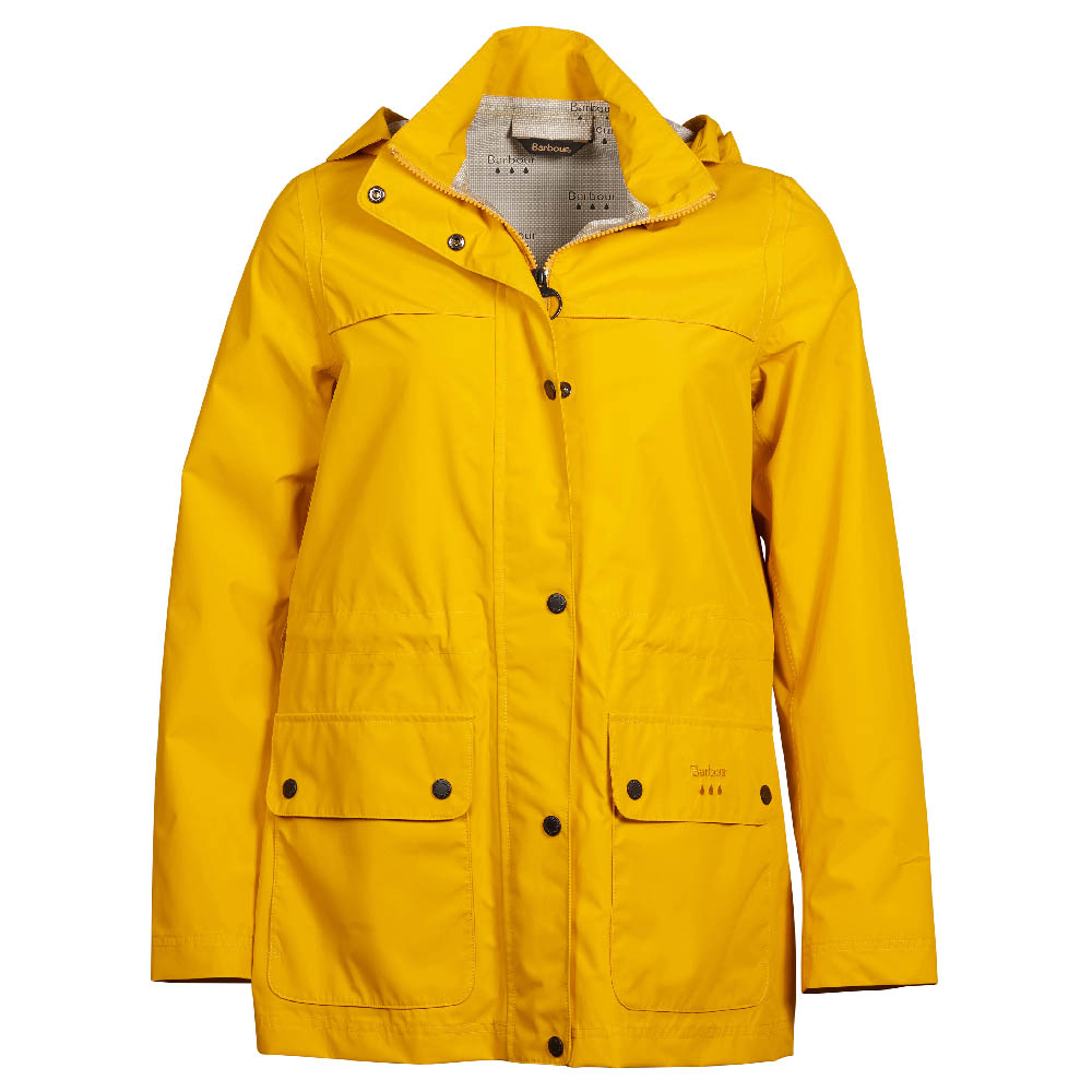 Barbour Drizzel Jacket Yellow Barbour Lifestyle: From the Classic collection