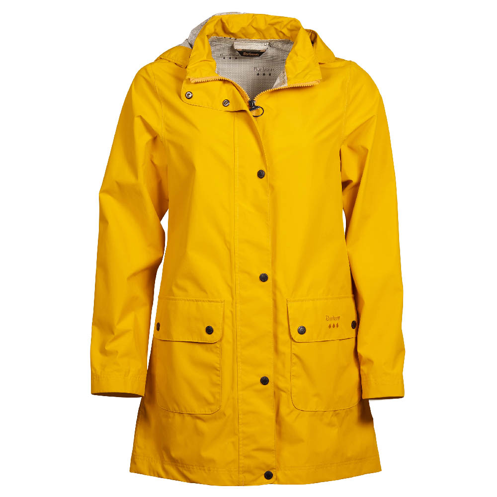 Barbour Inclement Jacket Yellow Barbour Lifestyle: From the Classic collection