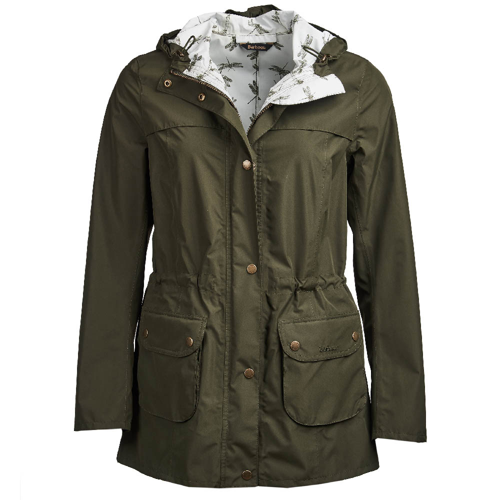 Barbour Aire Jacket Olive Barbour Lifestyle: From the Classic collection