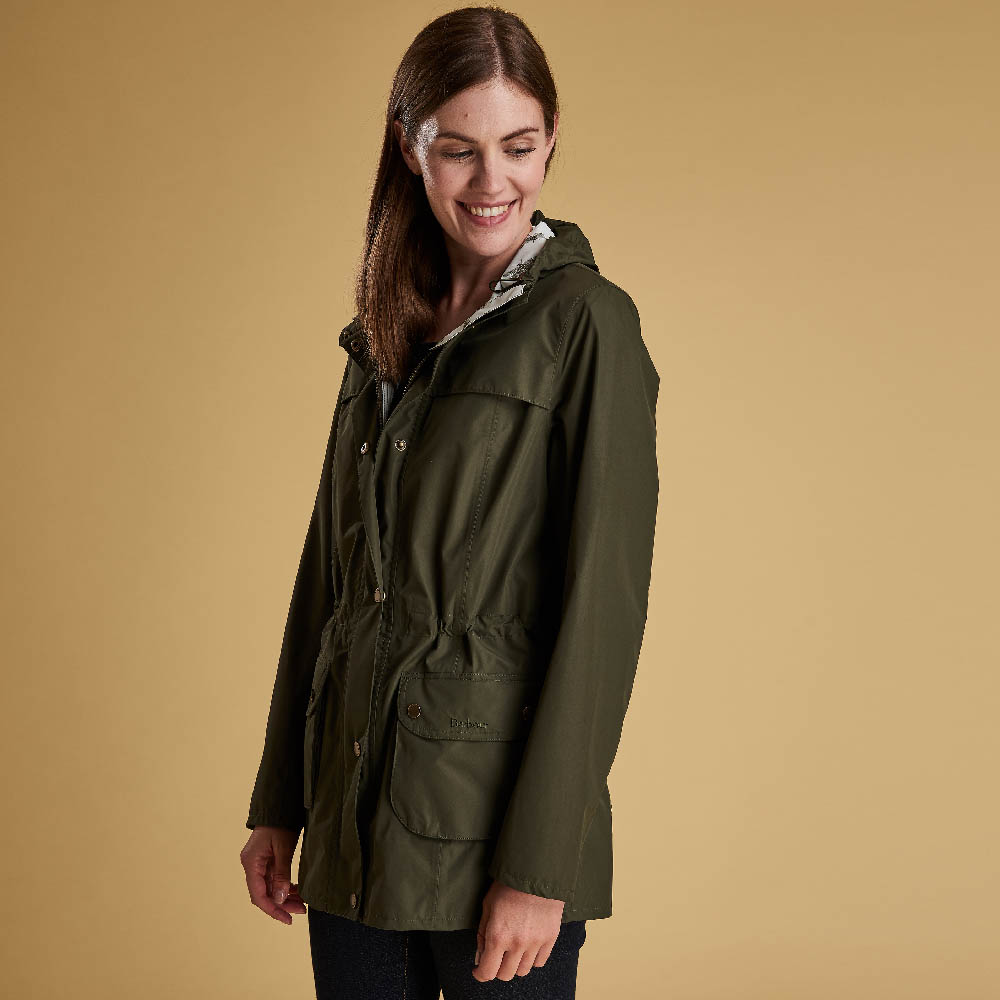Barbour Aire Jacket Olive