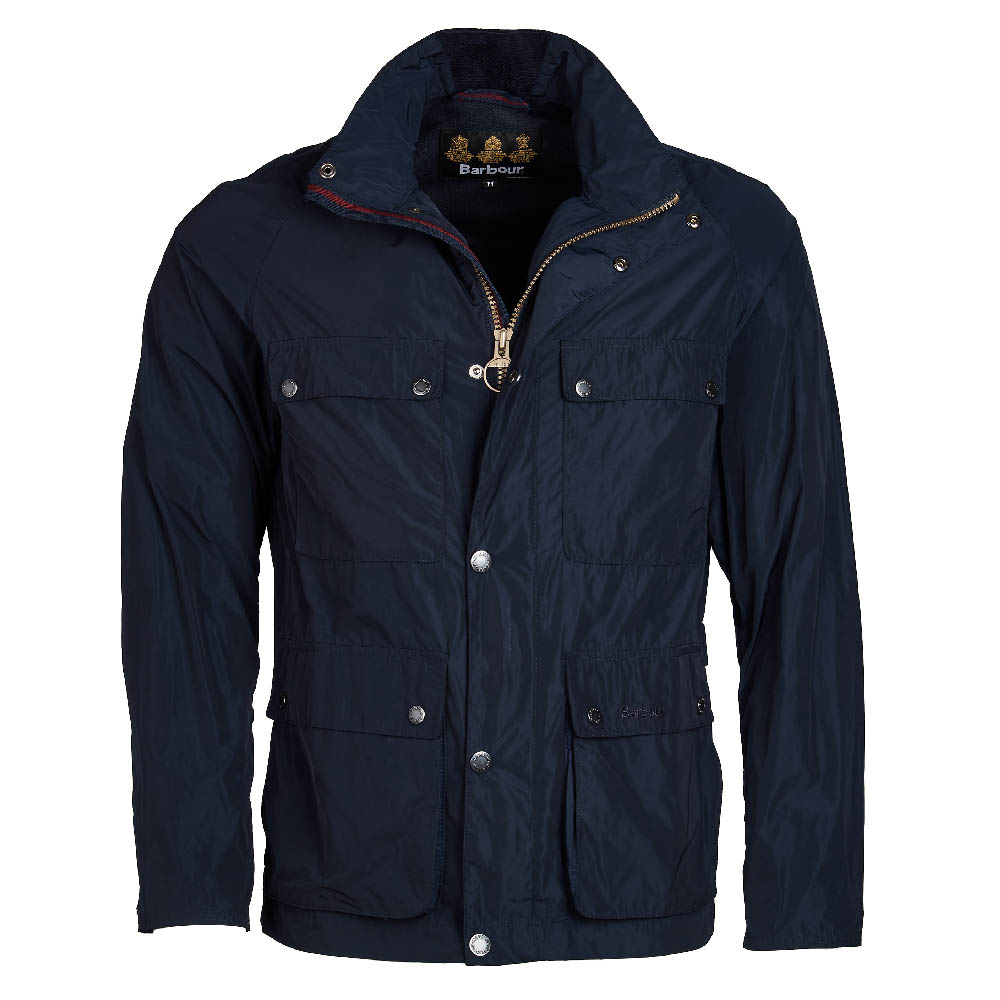 Barbour Inchkeith Casual Jacket Navy FIT: Tailored