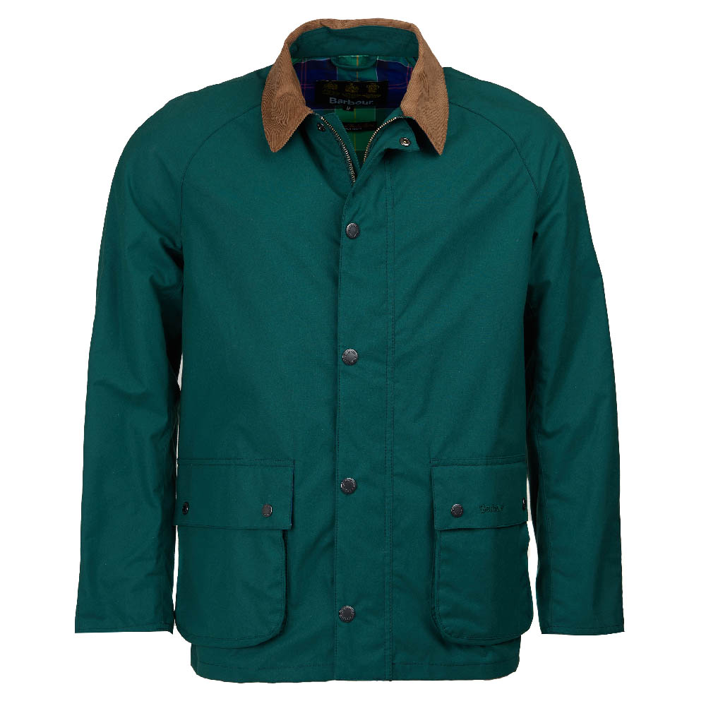 Barbour Awe Casual Jacket Green FIT: Tailored