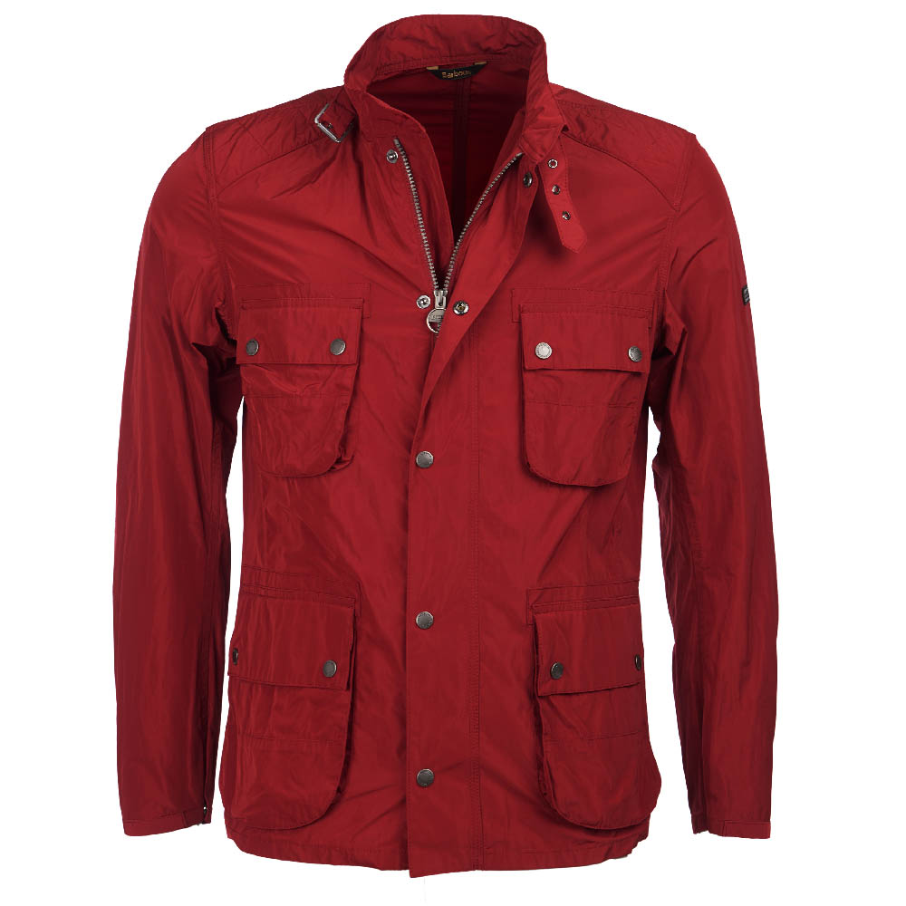 B.Intl Weir Casual Jacket Red FIT: Tailored