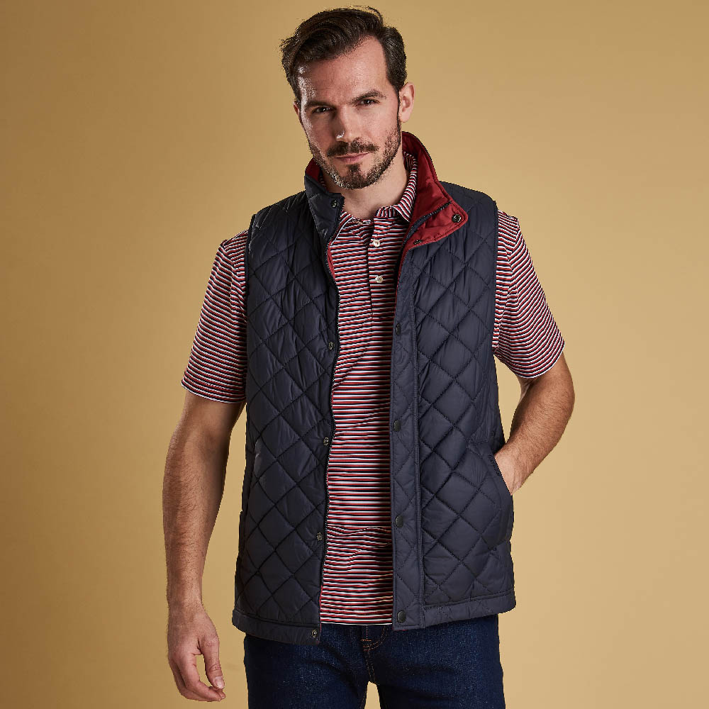 Barbour Ampleforth Gilet Navy