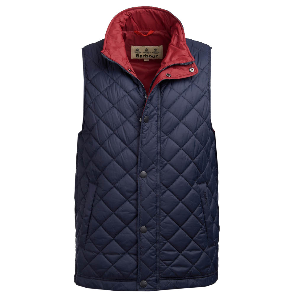 Barbour Ampleforth Gilet Navy FIT: Classic