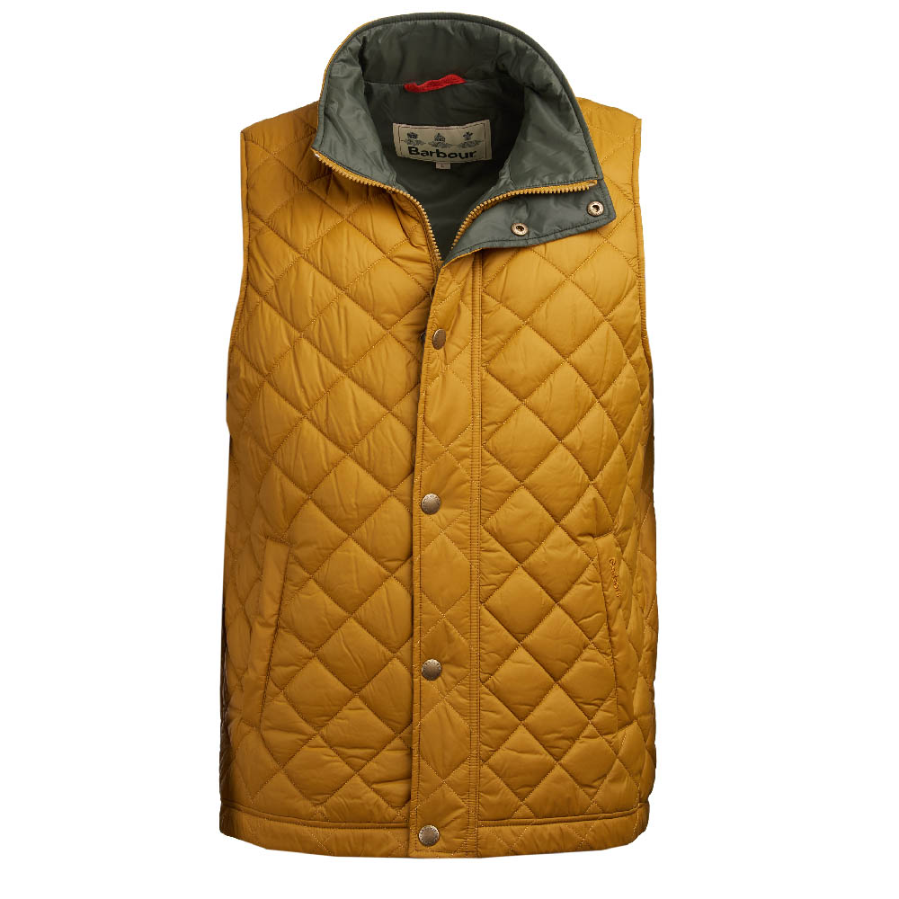 Barbour Ampleforth Gilet Yellow FIT: Classic
