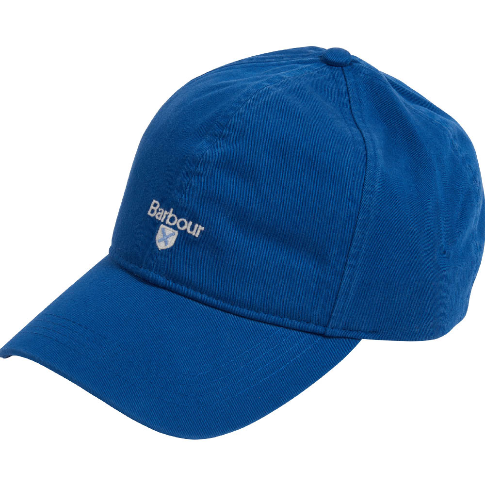 Barbour Branded Cascade Sports Cap True Blue Barbour Lifestyle: From the Classic capsule