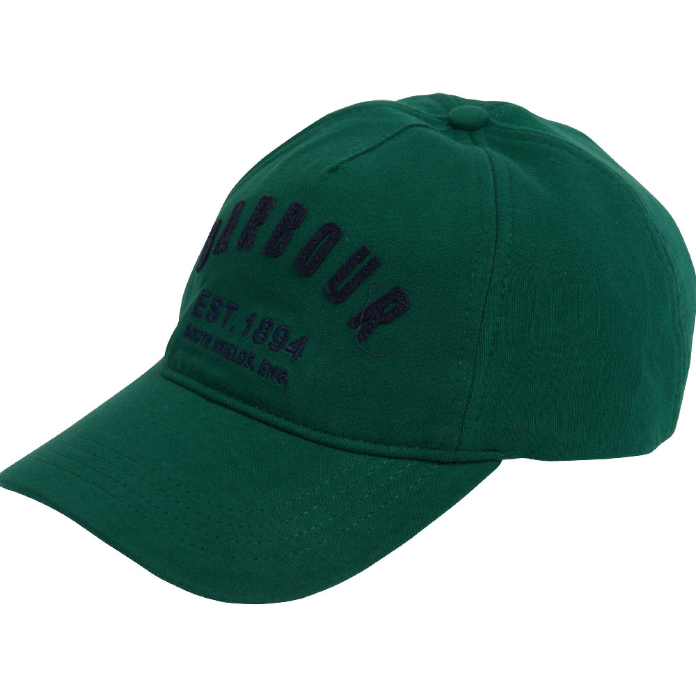 Barbour Prep Logo Sports Cap Green