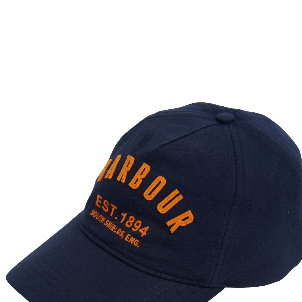 Barbour Prep Logo Sports Cap Navy