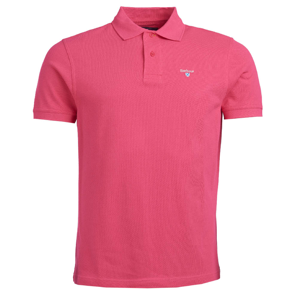 Barbour Sports Polo Shirt Sorbet Barbour Lifestyle: From the Core Essentials capsule