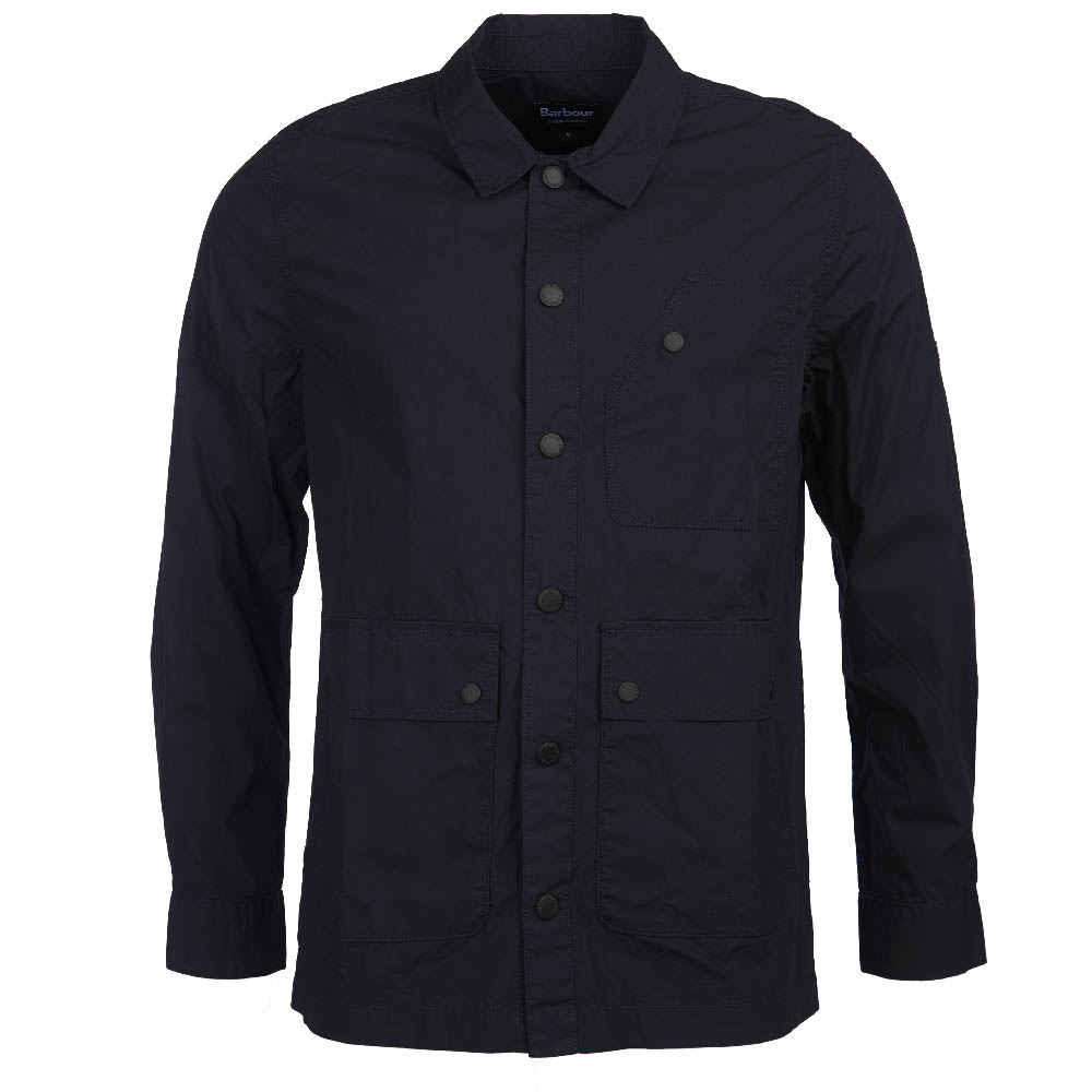 B.Intl Shift Overshirt Navy FIT: Slim