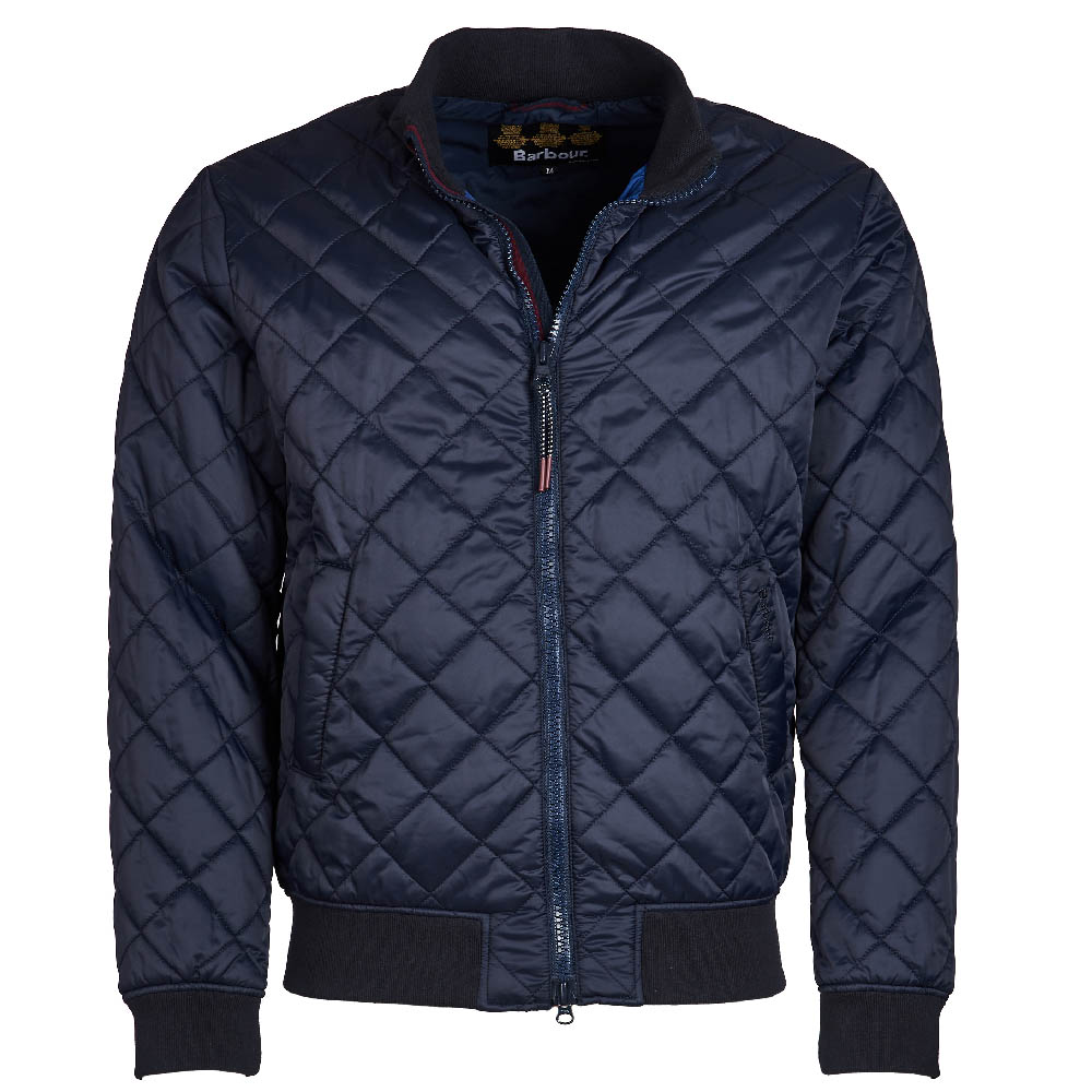 Barbour Blotter Quilted Jacket Navy