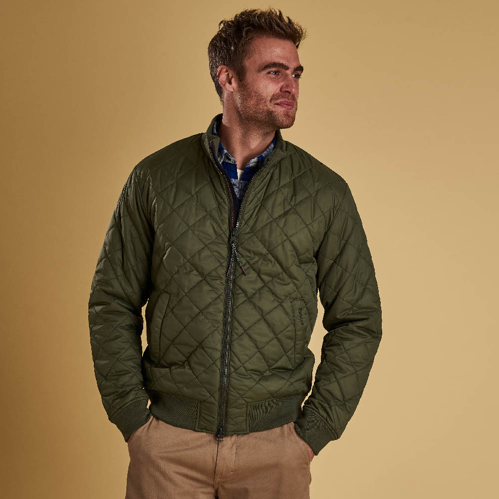 Barbour Blotter Quilted Jacket Olive