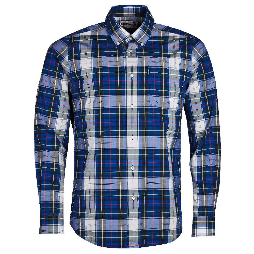Barbour Oscar Shirt Blue FIT: Tailored