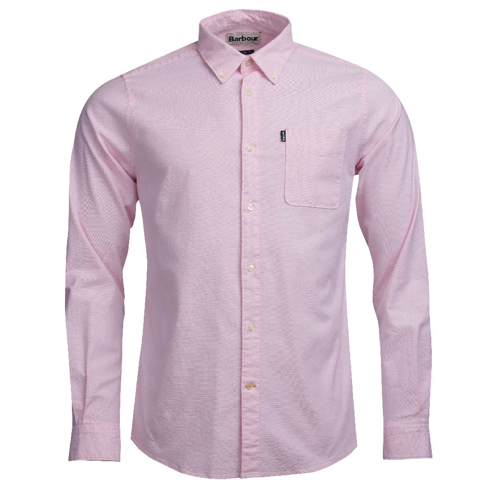Barbour Oxford 2 Pink Tailored Fit