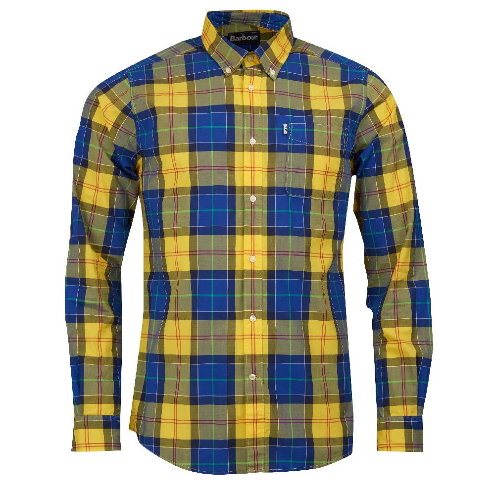 Barbour Toward Yellow Tailored Fit