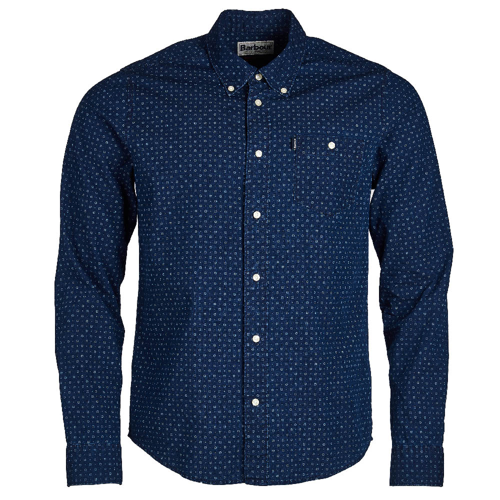 Barbour Slim Fit Shirt Indigo FIT: Slim