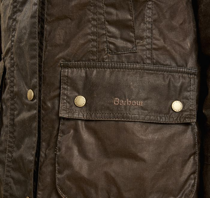 Barbour Lightweight Beadnell Wax Jacket Dark Sandstone