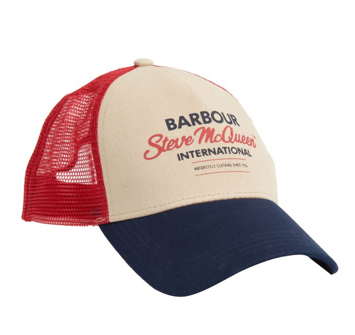 Barbour SMQ Trucker Cap Barbour Steve Mc Queen Capsule