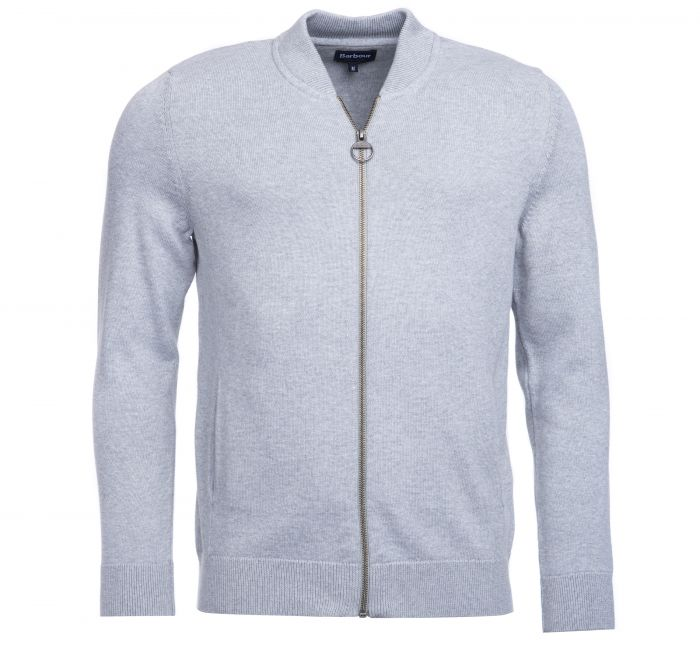 Barbour Barbour Blair Zip-Thru Sweater Grey FIT: Tailored