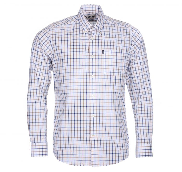 Barbour Henry Tailored Fit Shirt Sandstone Tailored Fit