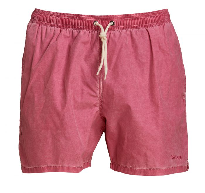 Barbour Turnberry Swim Shorts Pink FIT: Regular