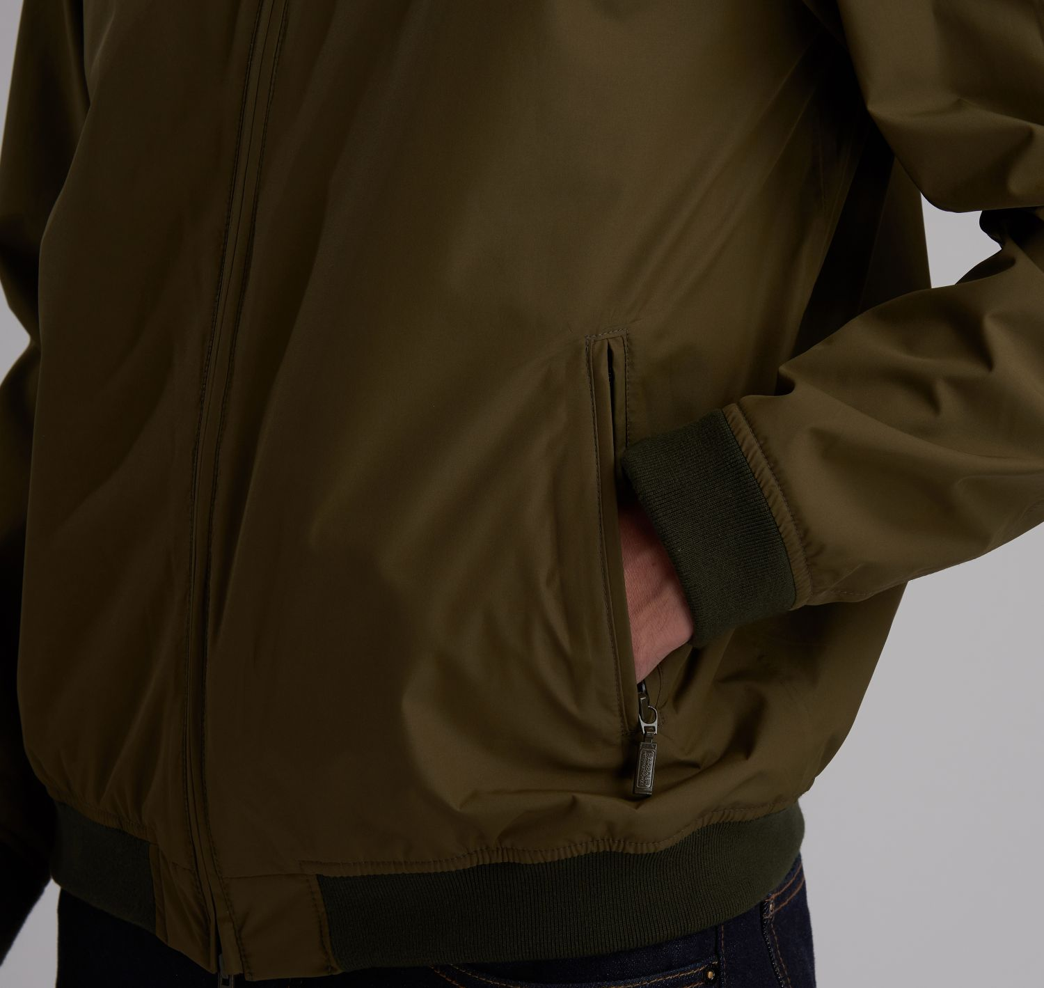 Steve McQueen Olympic Waterproof Jacket Olive