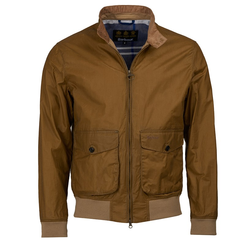 Barbour Barbour Erne Waxed Cotton Jacket Sanstone