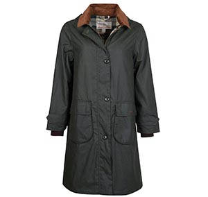 Barbour Kudzu Waxed Cotton Jacket Barbour Lifestyle Collection: Regular Fit