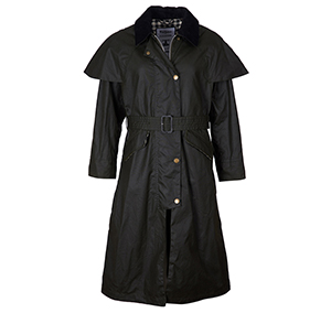 Barbour Barbour Trudie Waxed Cotton Jacket by Alexa Chung Barbour Lifestyle Collection: Alexa Chung