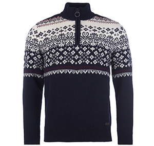 Barbour Fairisle Knitted Barbour Lifestyle: from the Classic capsule