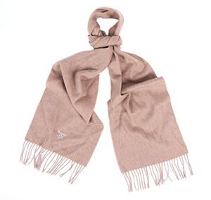 Barbour Barbour Plain Lambswool Scarf Fossil Barbour Lifestyle: from the Classic capsule