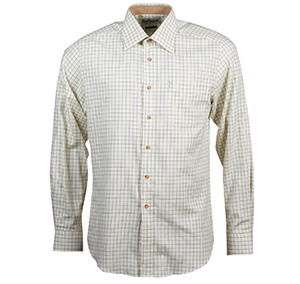 Barbour Barbour Field Tattersall Tailored Fit Shirt Green