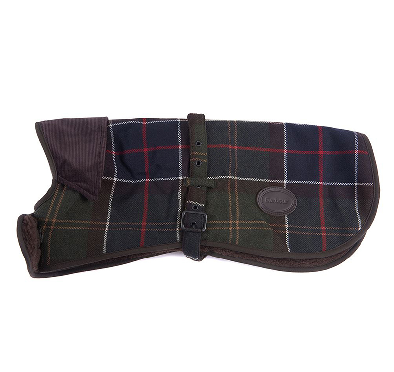 Barbour Wool Touch Tartan Dog Coat