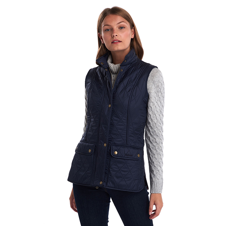 Barbour Wray Gilet Navy Barbour Lifestyle: from the Classic capsule