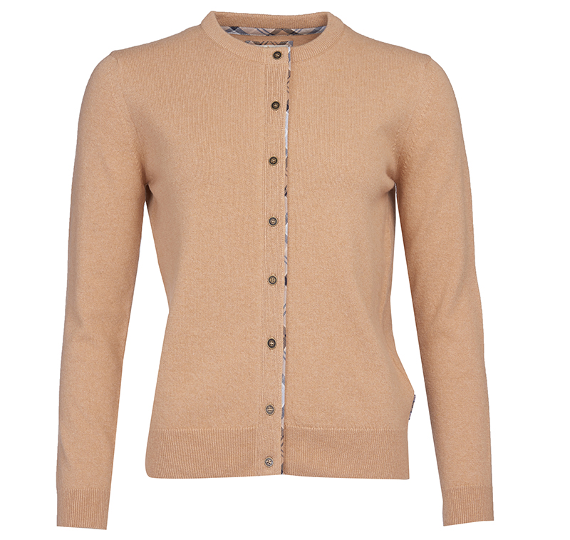 Barbour Barbour Pendle Cardigan Caramel Barbour Lifestyle: from the Classic capsule